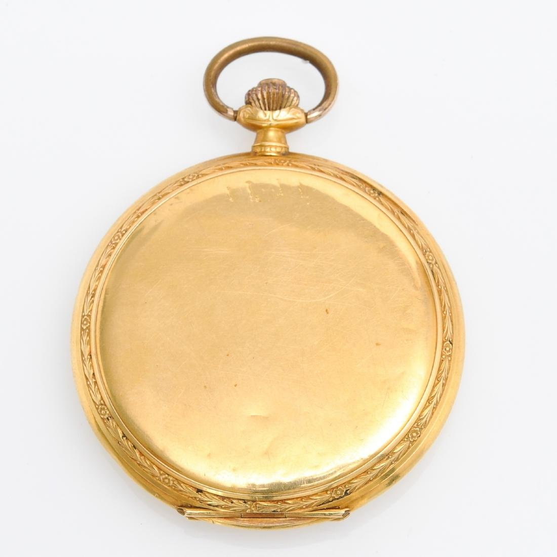 Two Gold Pocket Watches - 3