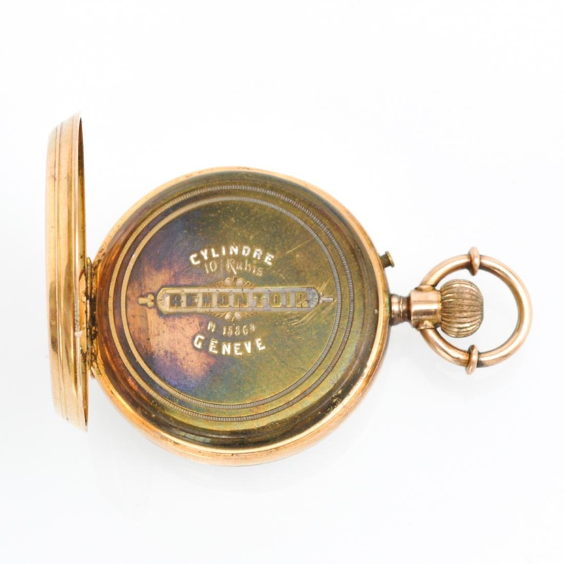 Two Gold Pocket Watches - 4