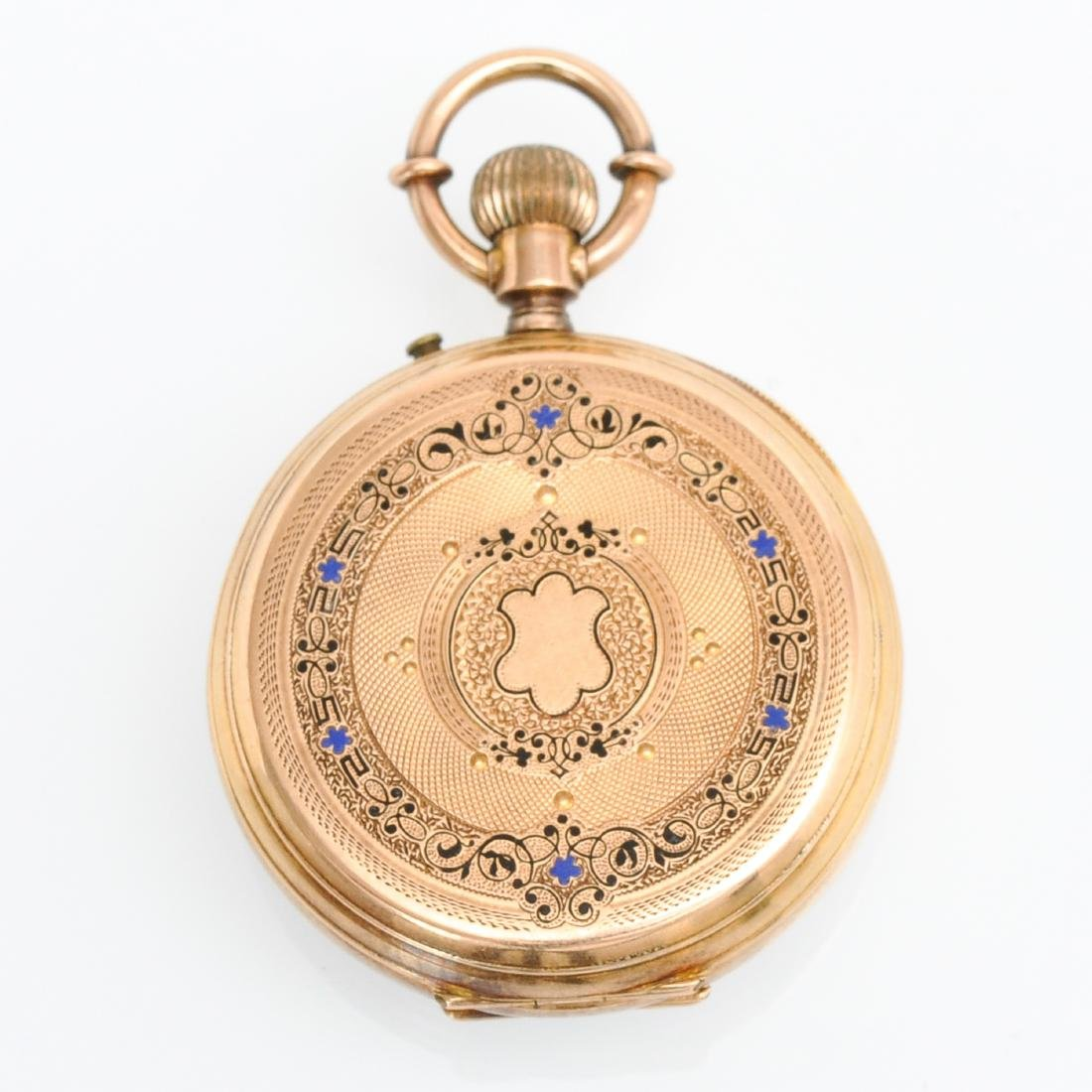 Two Gold Pocket Watches - 5