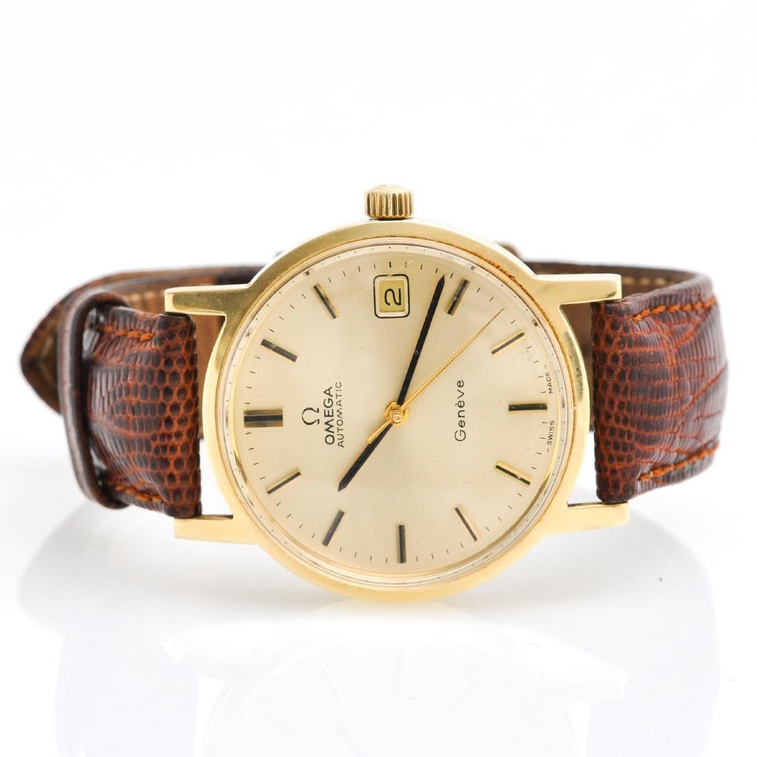 A Mens 14KG Omega Watch