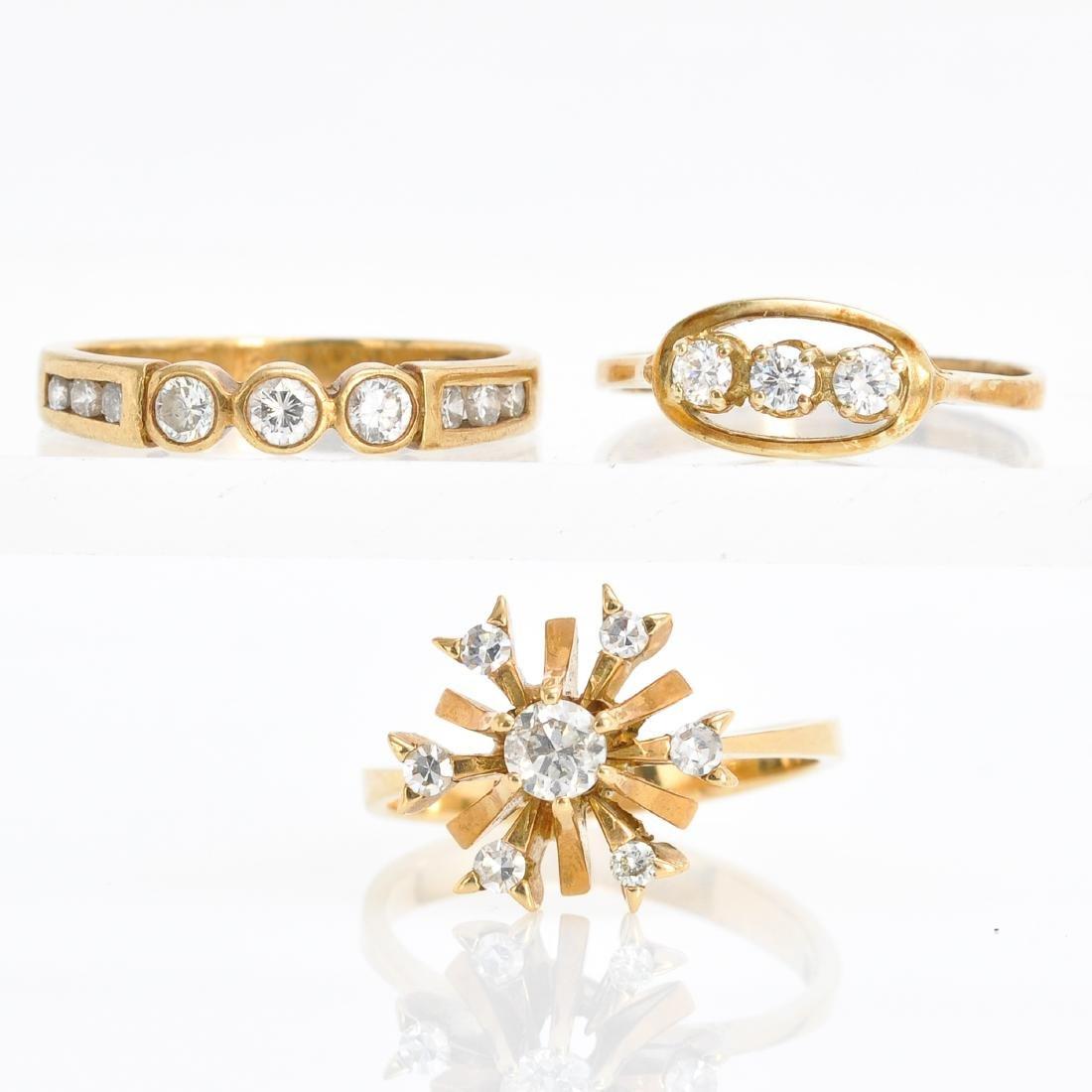 Three Ladies Diamond Rings
