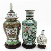 A Diverse Lot of Chinese Porcelain