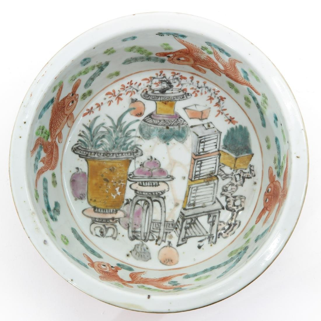 A Polychrome Decor Bowl