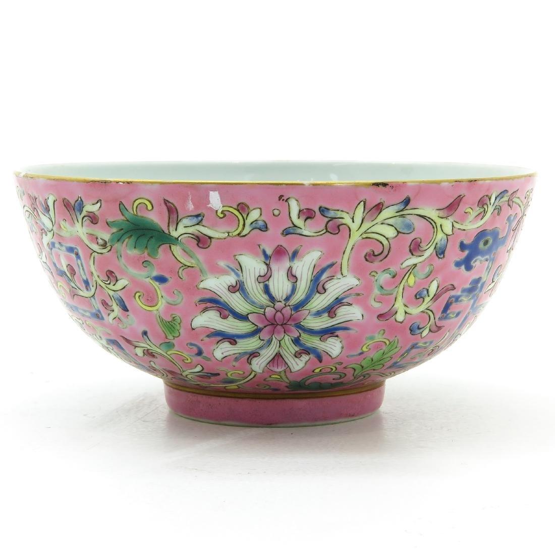 A Famille Rose Decor Bowl