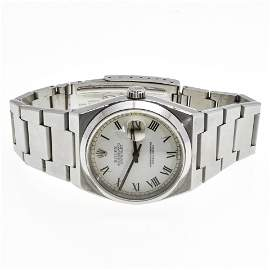 A Mens Rolex Oyster Date Just