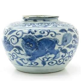 A Blue and White Decor Censer