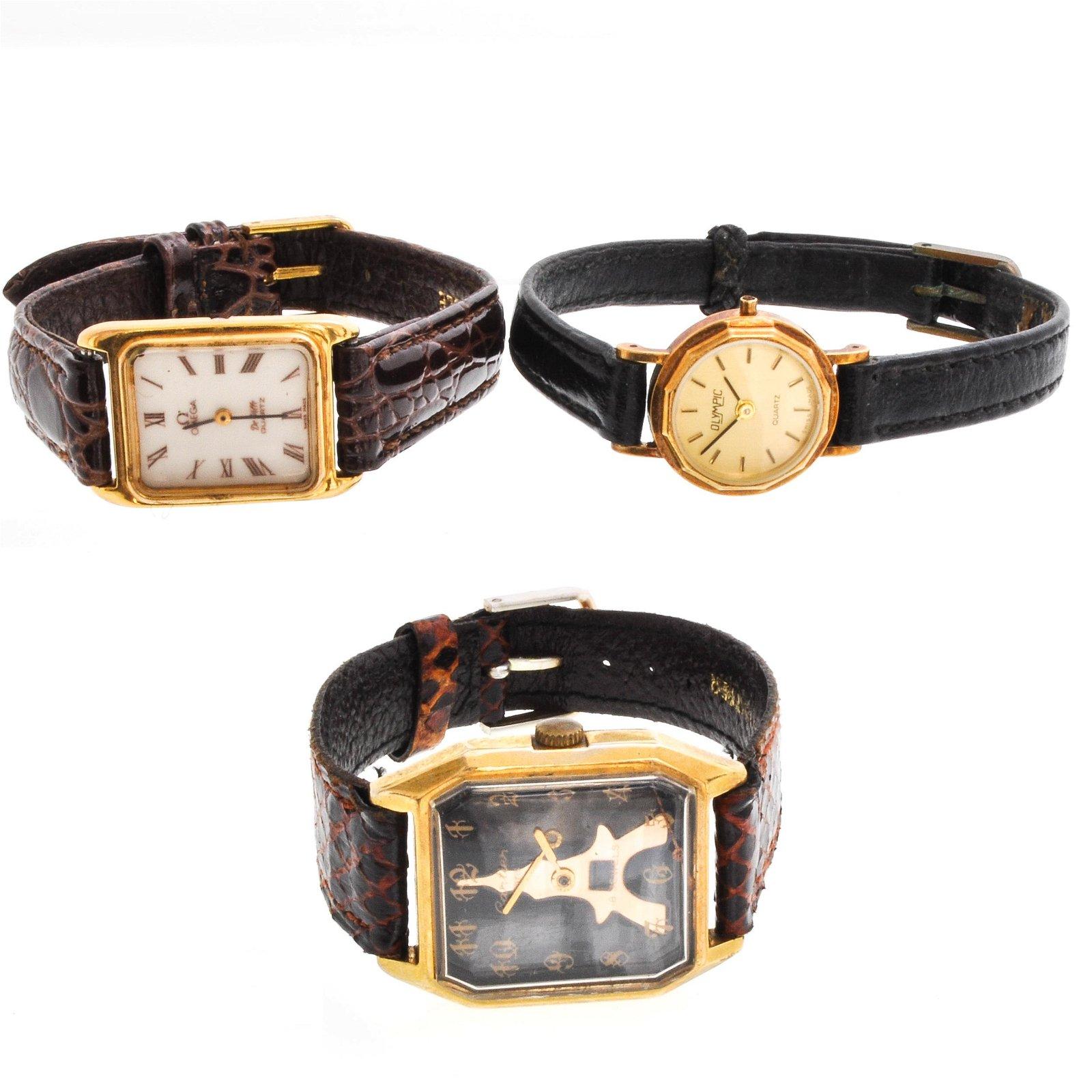 Three Vintage Watches