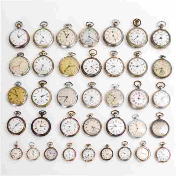 A Diverse Collection of Pocket Watches