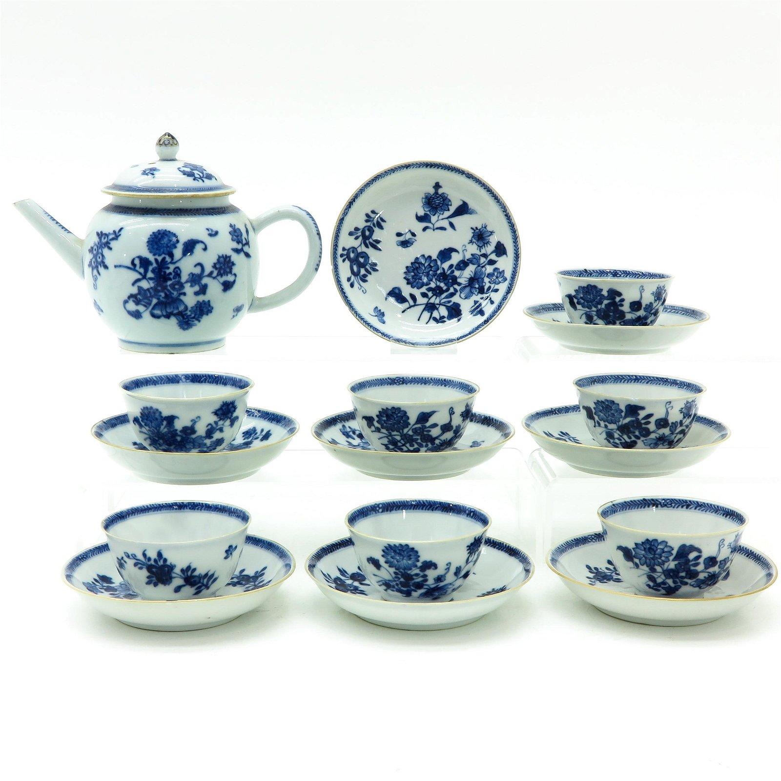 A Chinese Porcelain Tea Service