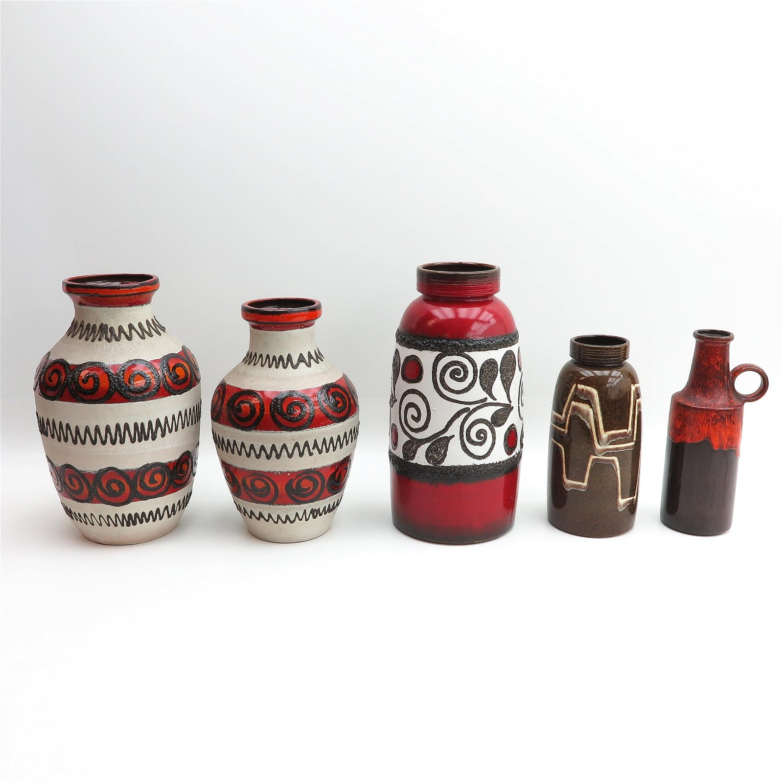 A Collection of 1970s Pottery