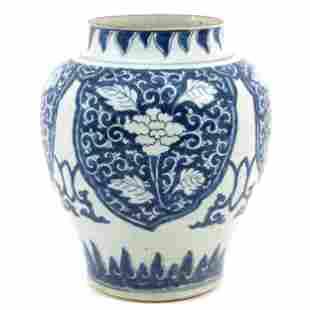 A Blue and White Kangxi Period Jar