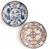 Two Imari Plates