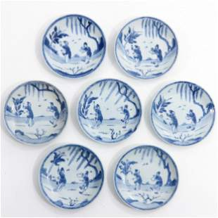 A Series of 7 Small Plates