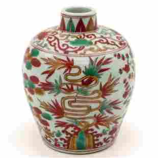 A Polychrome Jar