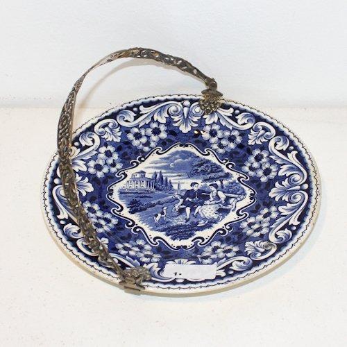 Silver Handled Platter