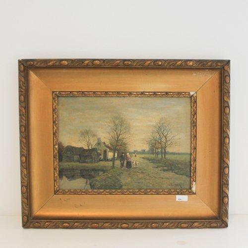 Oil on Canvas J. Brinck
