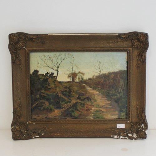 Pastural Oil on Canvas P.M. van Walshern