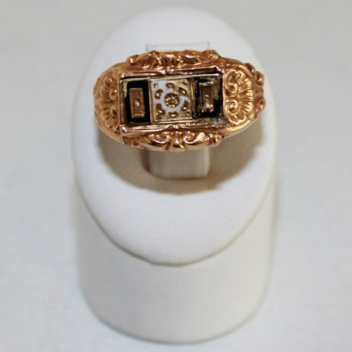 18KG 19th Century Ring