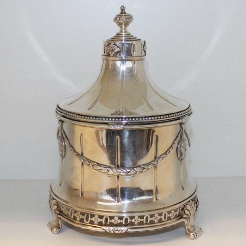Dutch Silver Tobacco Pot