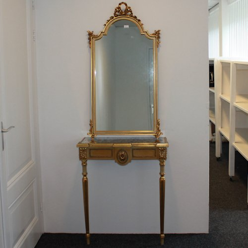 Console Table & Pier Mirror