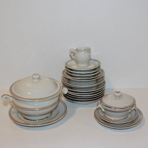 Antique Children's Porcelain Tableware