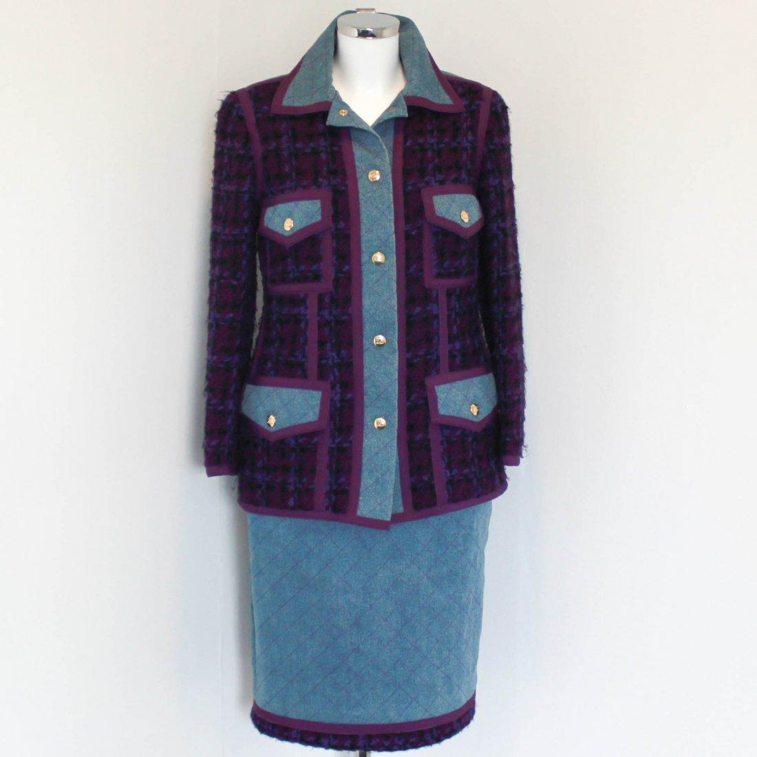 Chanel Denim & Tweed Suit