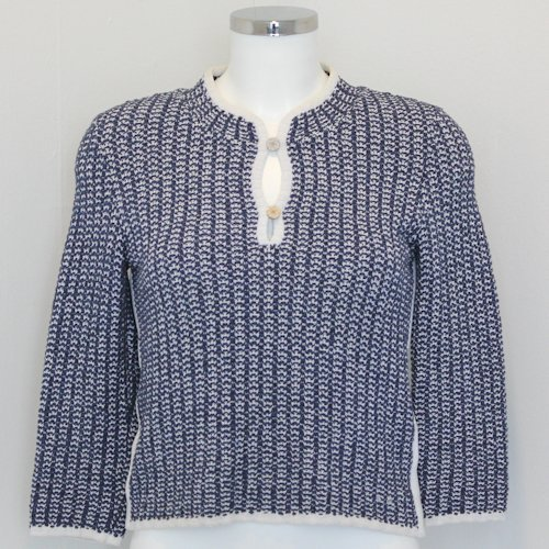 Chanel Knitted Double Button Sweater