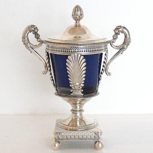 Etaine Augusta Cohrtoir Paris Silver Sugar Vase