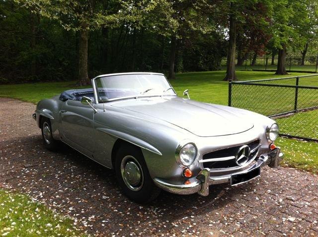 Completely Restored 1955 Mercedes 190 SL