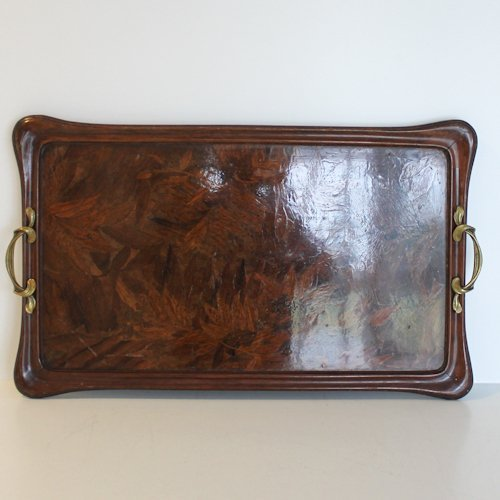 Signed Majorelle Nancy Serving Tray