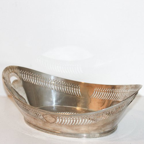 Dutch Silver Bread Basket
