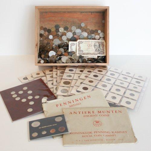 Diverse Coin Collection