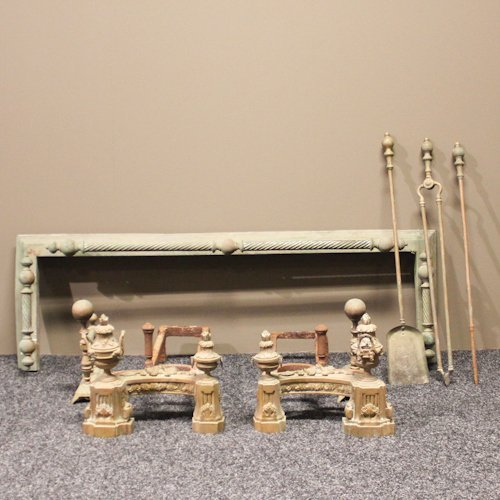 19th Century French Fireplace Accessories
