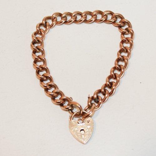 9KG Bracelet with Heart Locker