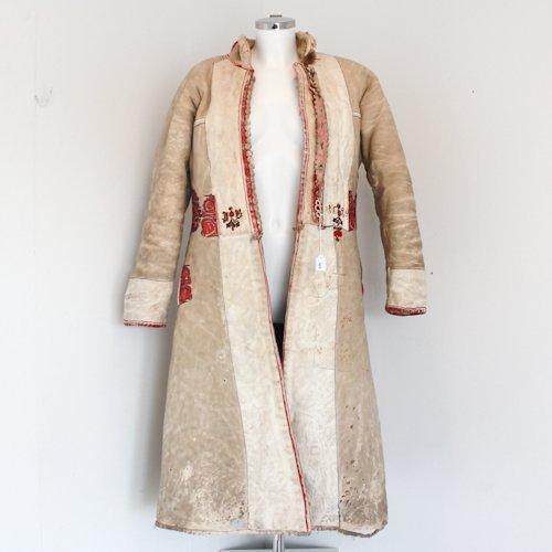Buffalo Skin Native American Coat dated 1924