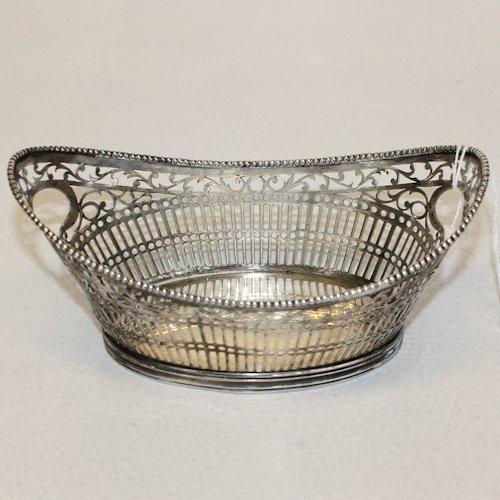 Dutch Silver Bon Bon Basket
