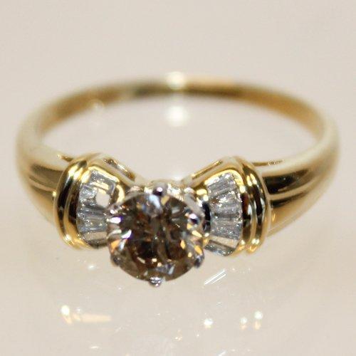 18KG Diamond Ring