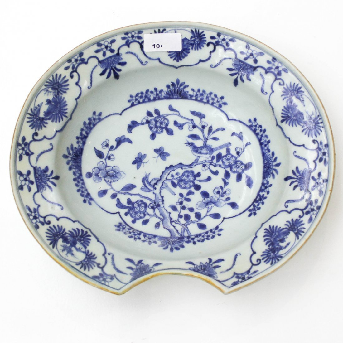 18th / 19th Century China Porcelain Barber's Bowl