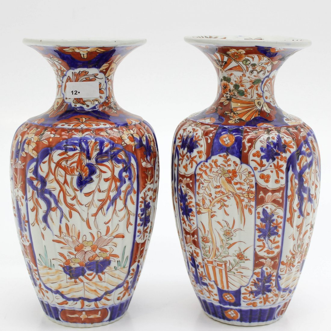 2 19th Century Japanese Vases