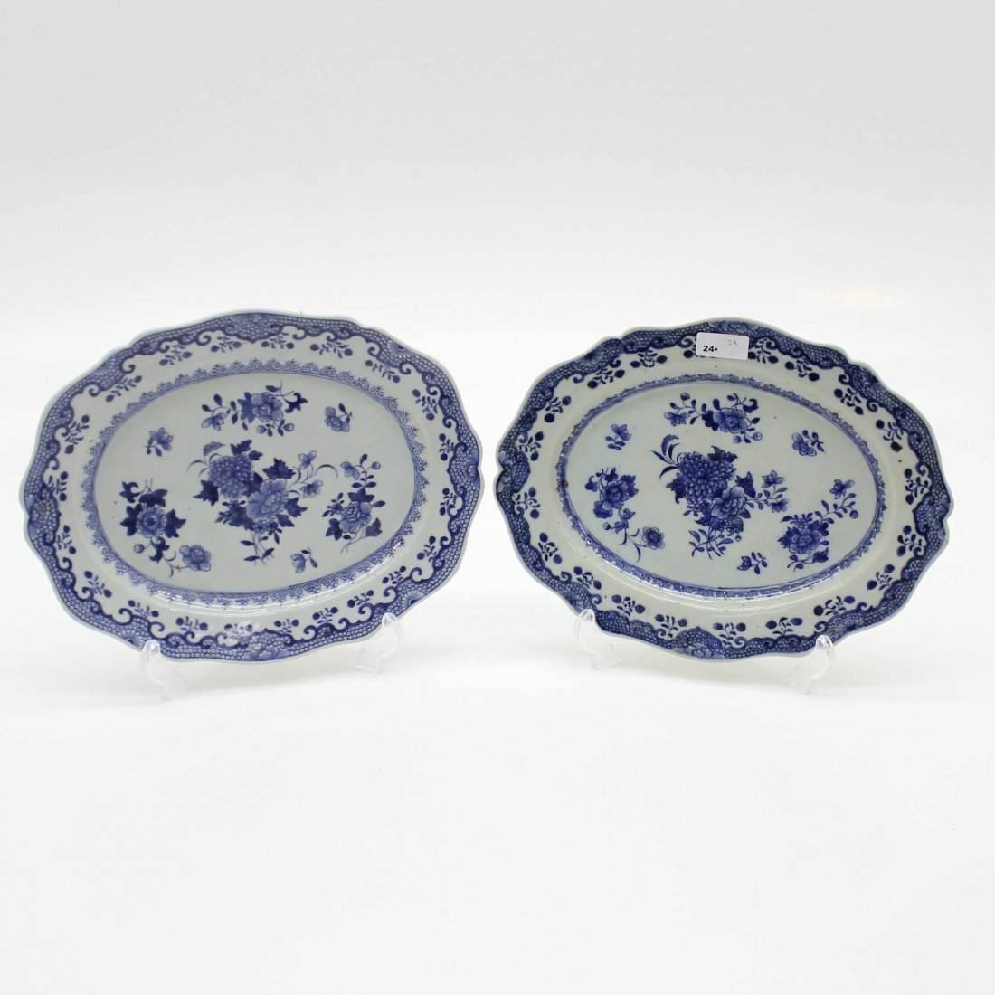 18th Century China Porcelain Platters
