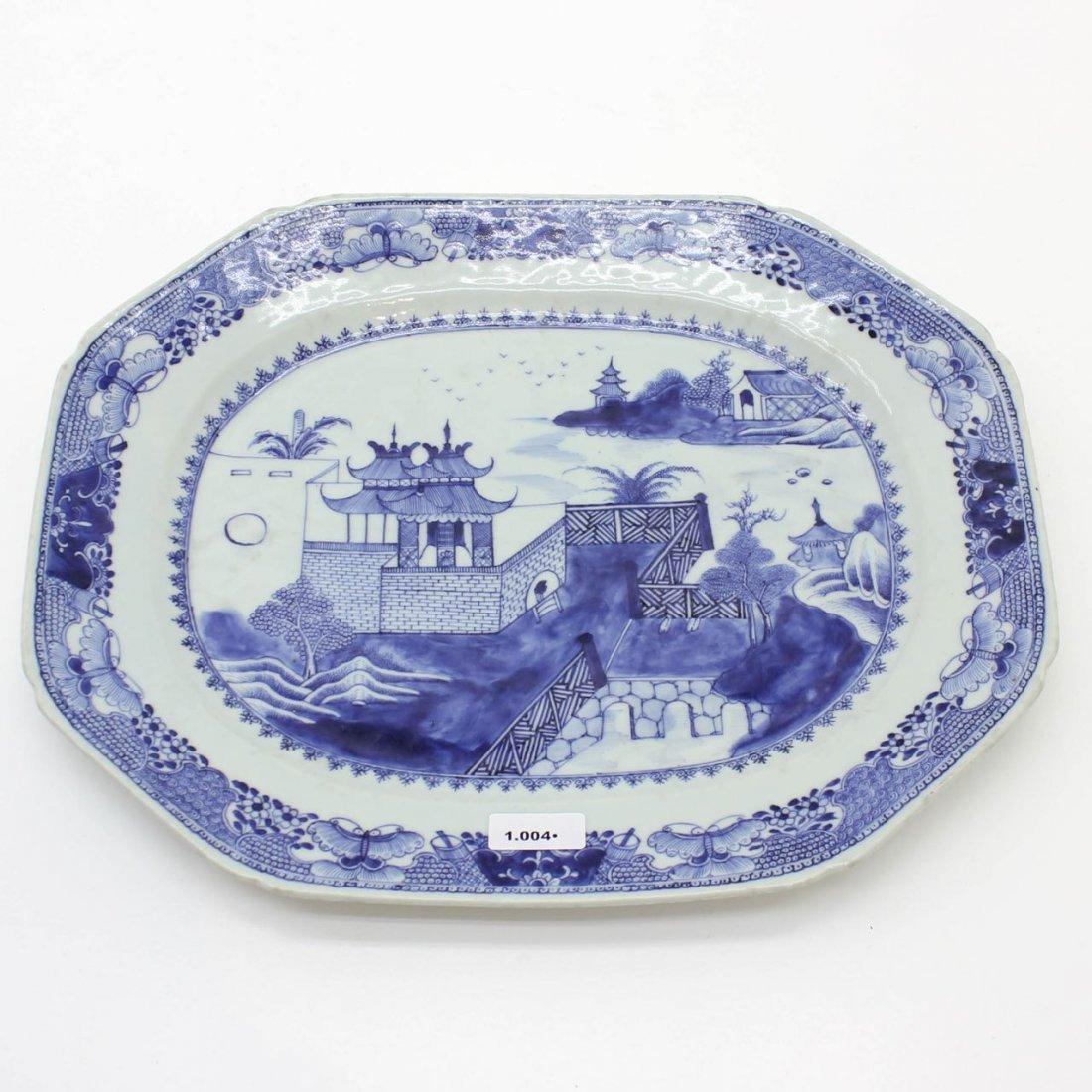 18th Century China Porcelain Platter
