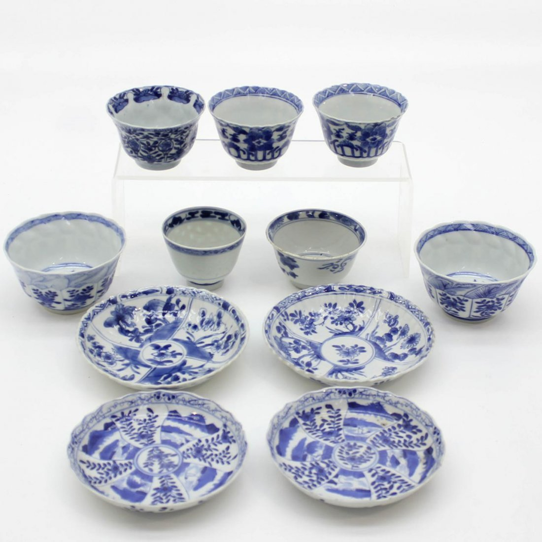18th / 19th Century China Porcelain Cups & Saucers