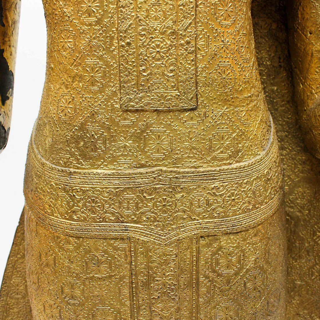 A Fine 19th Century Bronze Gilt Buddha in Abhaya Mudra - 9
