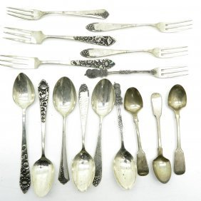 Lot Of Silver Cutlery