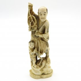 Japanese Okimono Sculpture