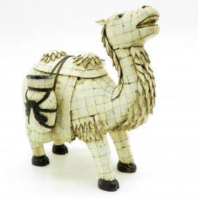 Bone Camel Sculpture