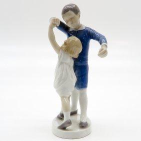 Figurine Of Children Dancing