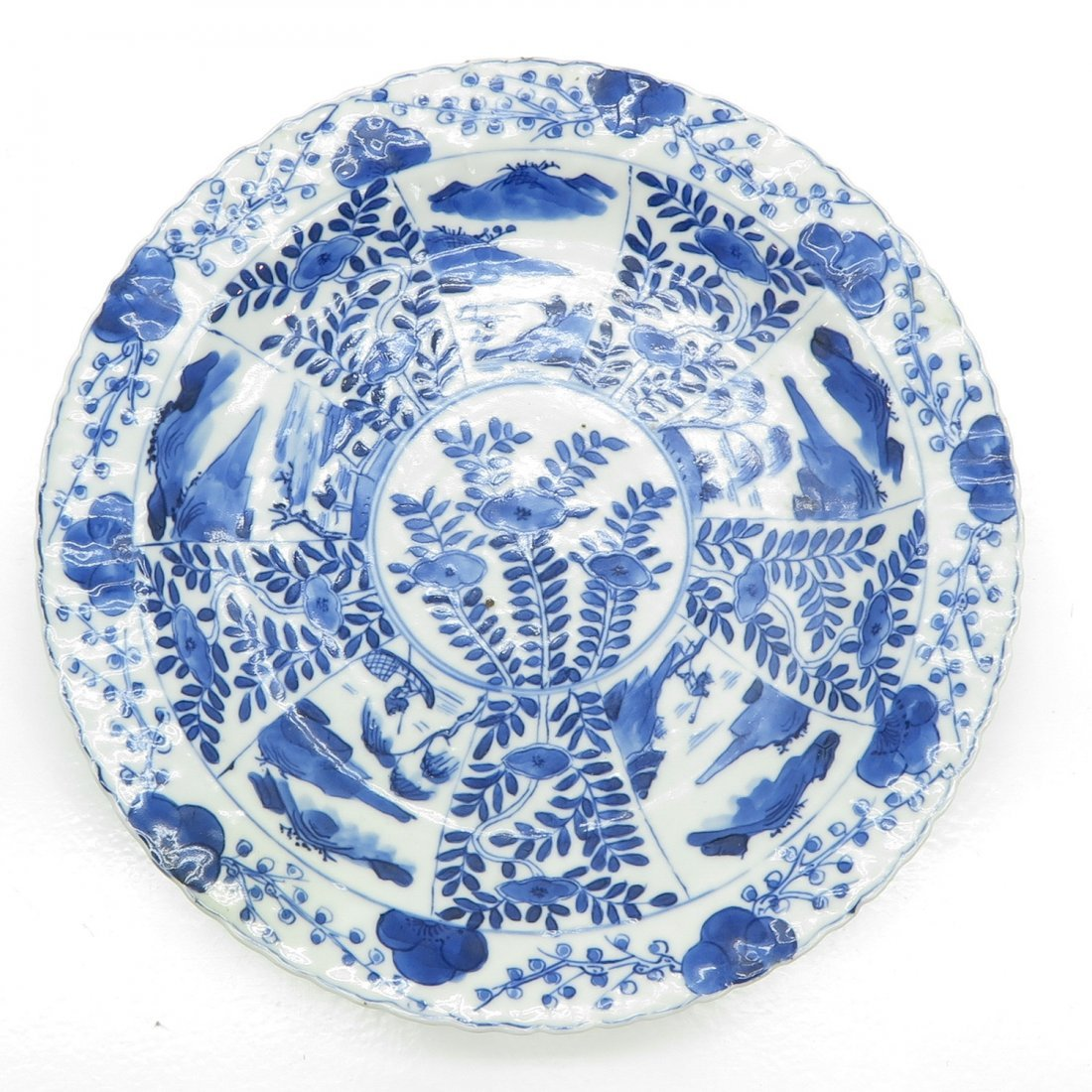 China Porcelain Kangxi Plate