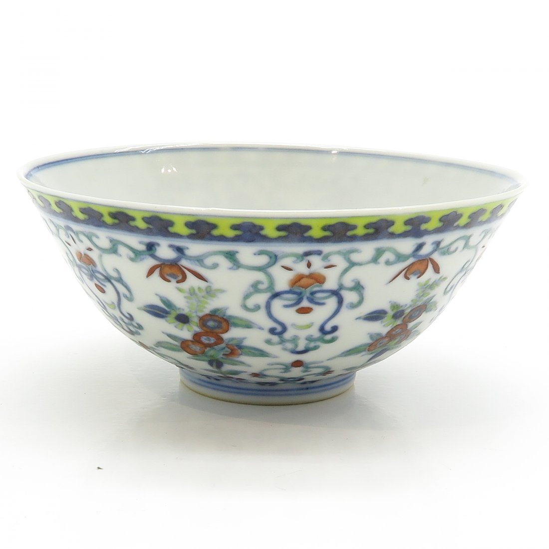 18th / 19th Century Wucai Decor Bowl