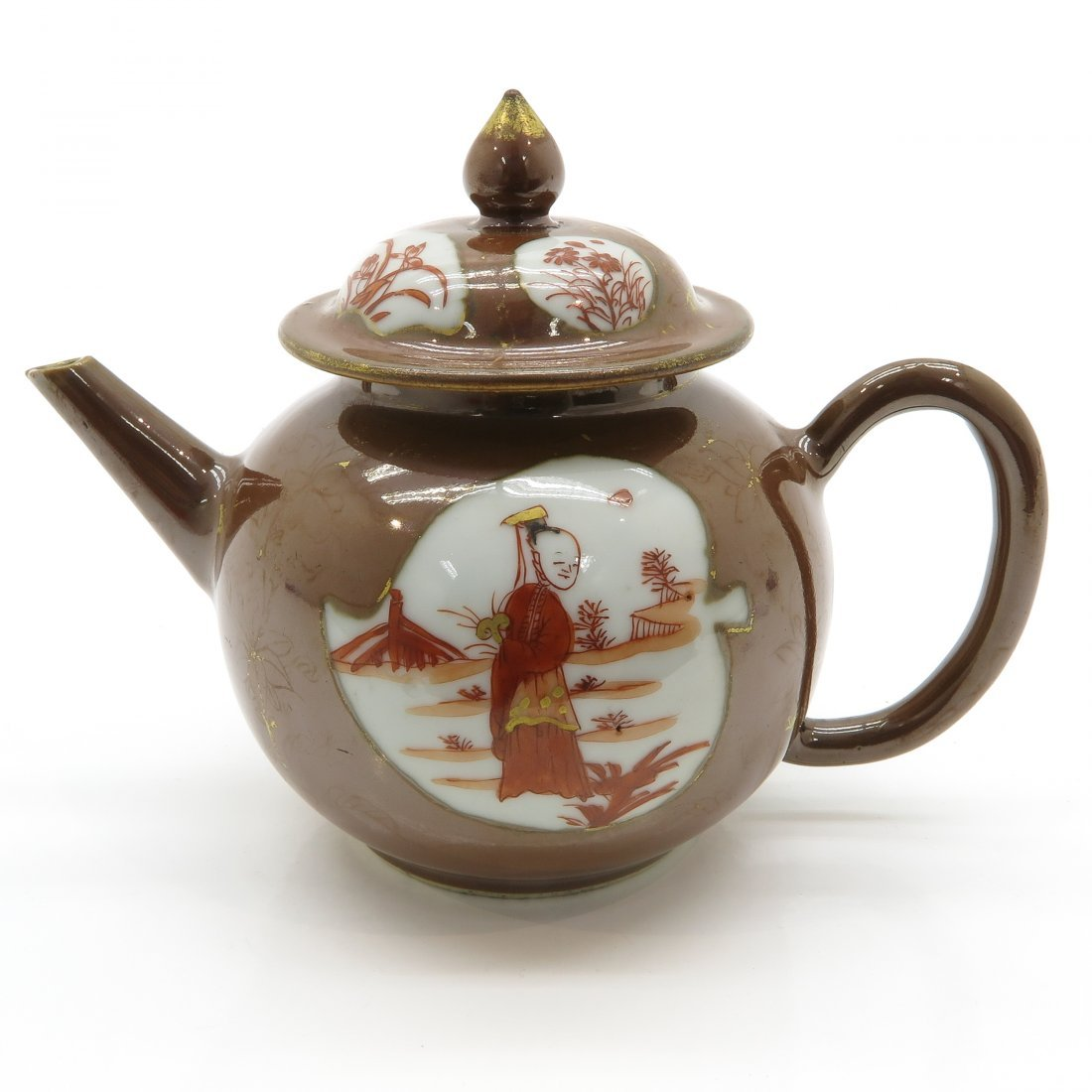 China Porcelain Teapot Circa 1800